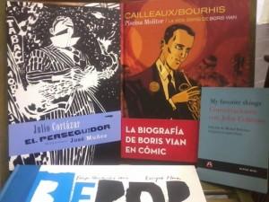 Miscelánea de cómics y de jazz
